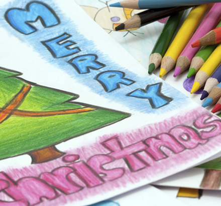 Personalised Christmas Cards for Schools